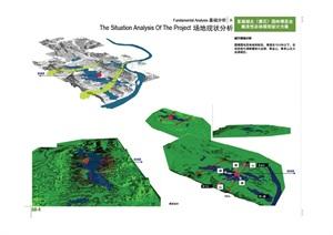 湖北某園林博覽會總體規劃