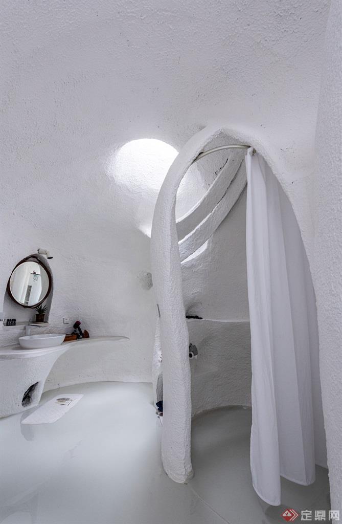 蚁穴酒店创意卫生间