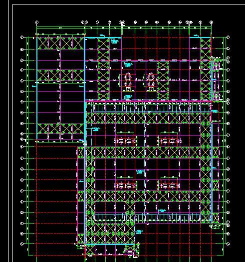 某FM認證鋼結構廠房結構施工圖(2)