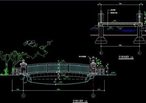 详细的车行桥cad施工详图