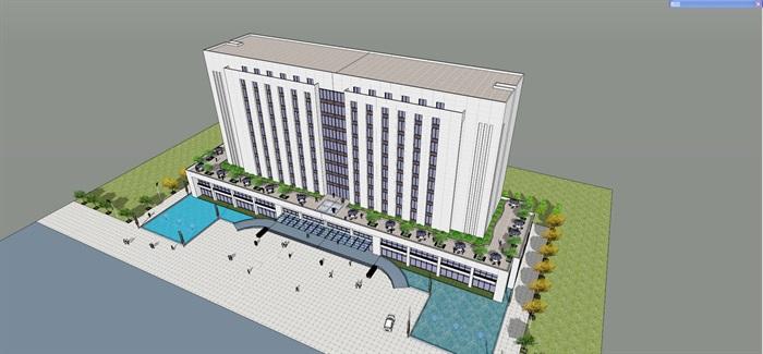 产业基地项目里的办公楼2013.11(4)