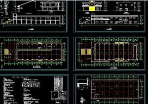 食堂综合楼设计cad扩出图