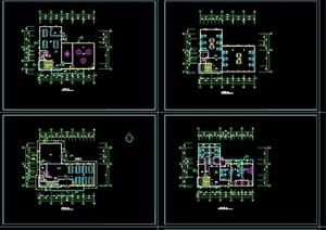 某宿舍餐厅建筑设计cad施工图