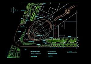 某详细的广场景观节点cad方案图