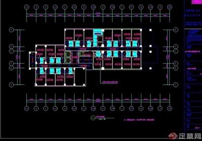 五星级大酒店艾威茵大酒店cad装饰工程