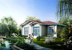 农ZTJ0801 上海市农村村民住房推荐方案 施工图 小套型  80㎡