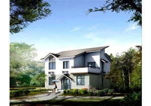 上海市农村村民住房推荐方案 施工图 中套型  162㎡