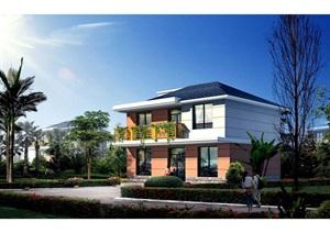 上海市农村村民住房推荐方案 施工图 中套型  174m2