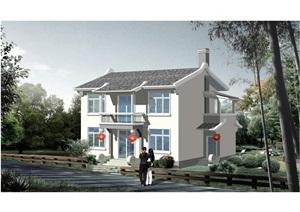 农ZTJ0810 上海市农村村民住房推荐方案 施工图 中套型  185m2