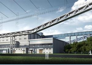 工业博物馆文物保护加固改造利用工程4全套方案图(建筑方案图,sky模型,效果图,实景图,现状勘察表,结构加固修缮方案)