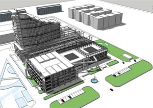 医院设计综合体建筑方案