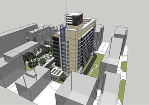 医院办公楼建筑设计方案