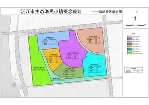 居住小区及公园的概念总图