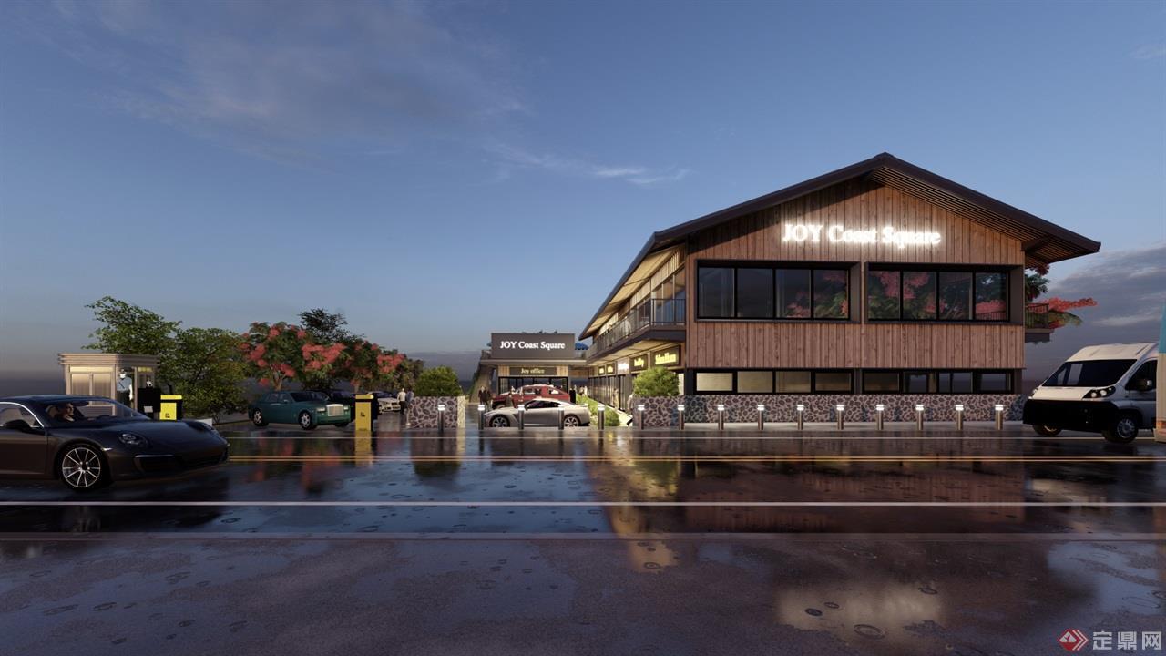 海岛咖啡厅景观建筑方案 (2)