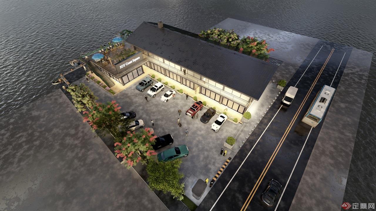 海岛咖啡厅景观建筑方案 (10)