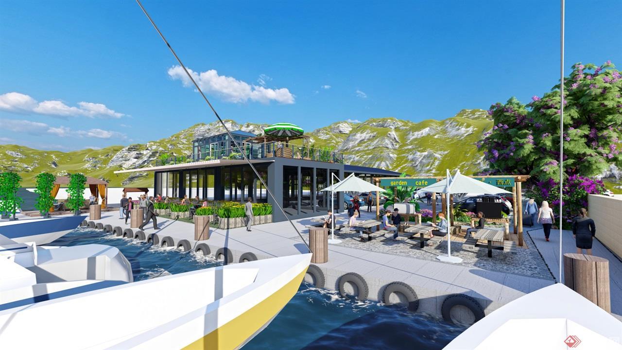 海岛餐厅景观 (5)