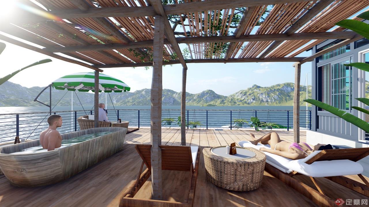 海岛餐厅景观 (9)