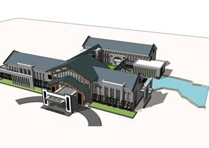 新中式酒店 会所方案设计