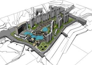 会所新中式 酒店 别墅设计