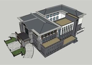 新中式 酒店设计 会所设计