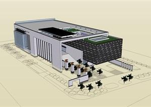 新中式博物馆 方案设计