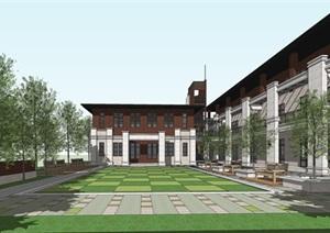 博物馆 办公 会所  新中式方案设计