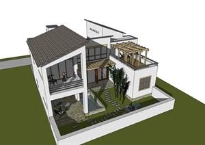 小别墅   新中式小别墅