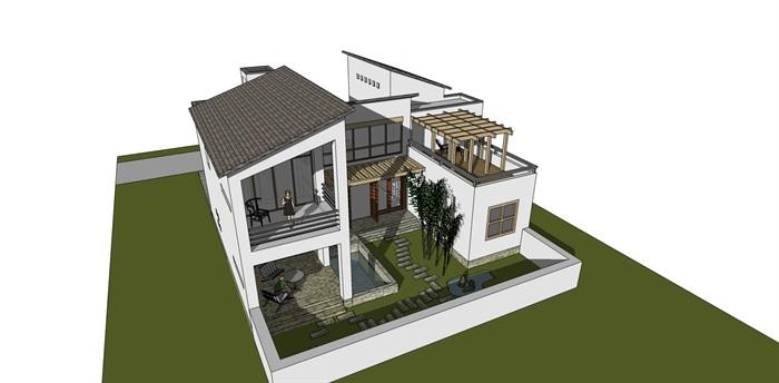 新中式小别墅(1)