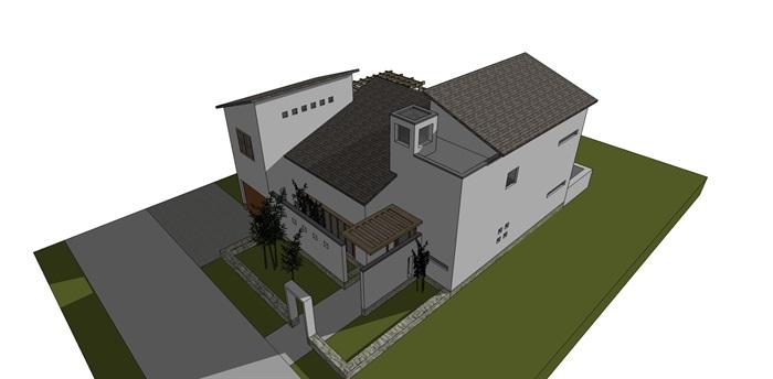 新中式小别墅(3)