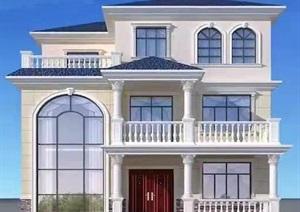 12x12别墅设计带立面效果