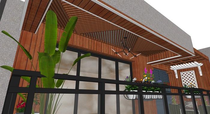 现代风格阳台设计(6)
