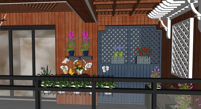 现代风格阳台设计(7)