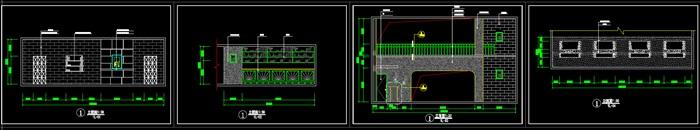二层咖啡店装饰设计CAD图-约900平(5)