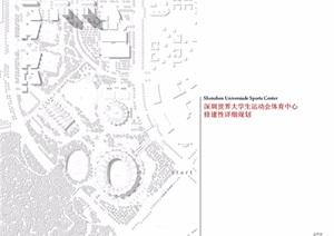 深圳世界大学生运动会体育中心修建性详细规划