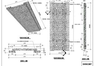 干挂大理石项目石材后期完整加工图