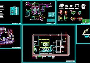 某21万平小区供热管网及换热站设计(含说明书及CAD图)