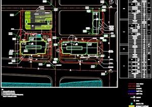 高层商业办公综合楼建筑设计方案(CAD图+SU(草图大师)模型+效果图+文本)-59743平