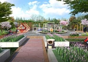 市民广场景观PSD设计方案