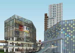 商业+住宅高层-成都·t街