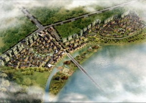 特色小镇-(英国科曼)金堂新城区英式风貌小镇规划设计
