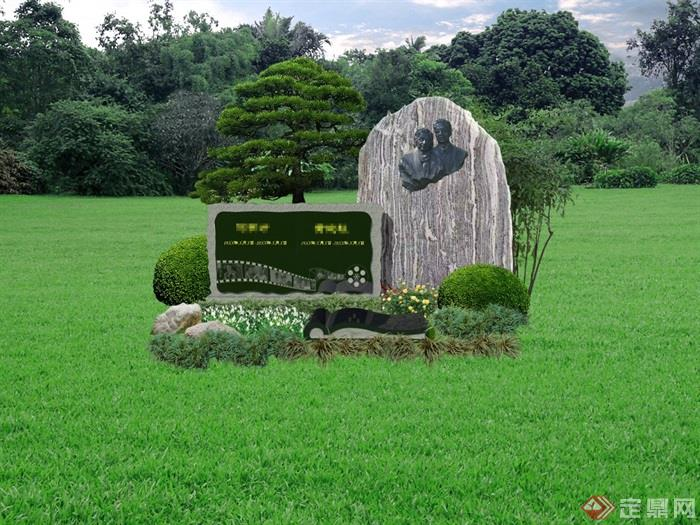 艺术墓方案2打马赛克