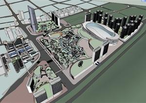 遵义万豪世贸城项目二期 城市设计 商业综合体