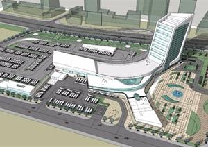天津XX汽车客运站设计