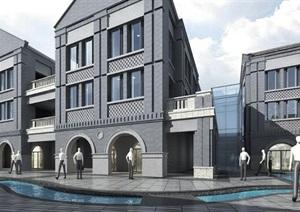 商业街-民国风格-绿地济南西十六里河商业