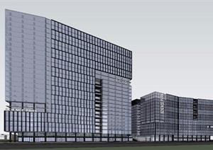 某市区科兴科学园规划模型