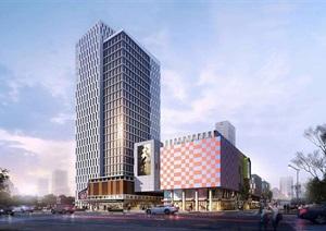 潍坊国际创意港 创意园 首个4.0产业创新服务综合体SU(草图大师)