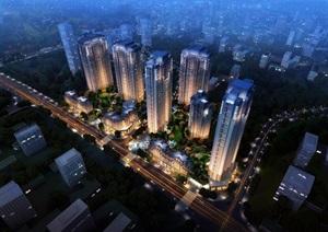 重庆总部城方案 新古典