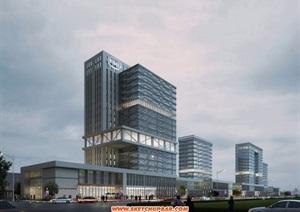 高新科技厂房规划方案模型