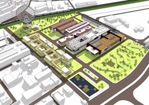 汉阳铁厂工业遗产改造建筑设计