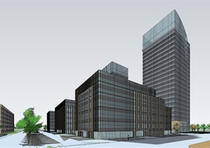 某市科技产业园的规划图0000
